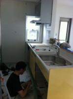 キッチン 施工 リフォーム